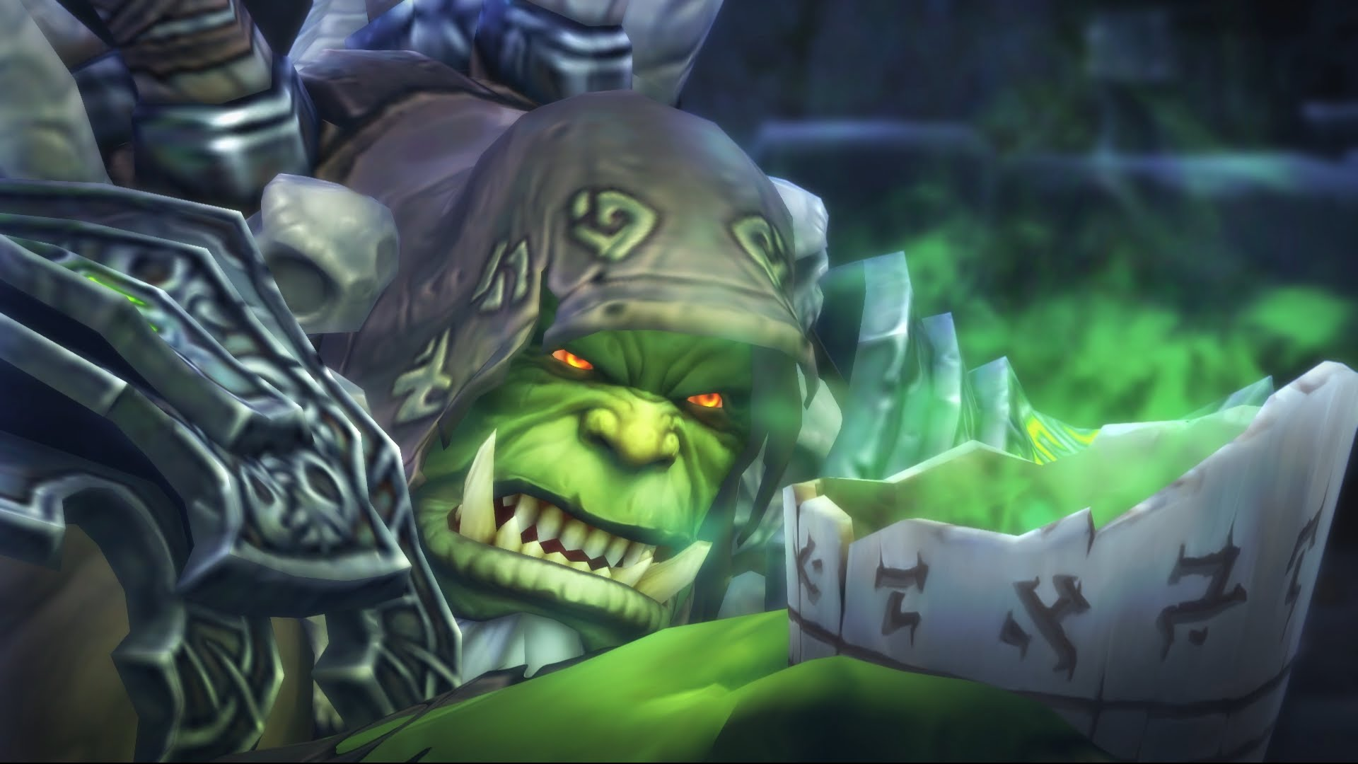 WOW: Gul'dan desktop wallpaper