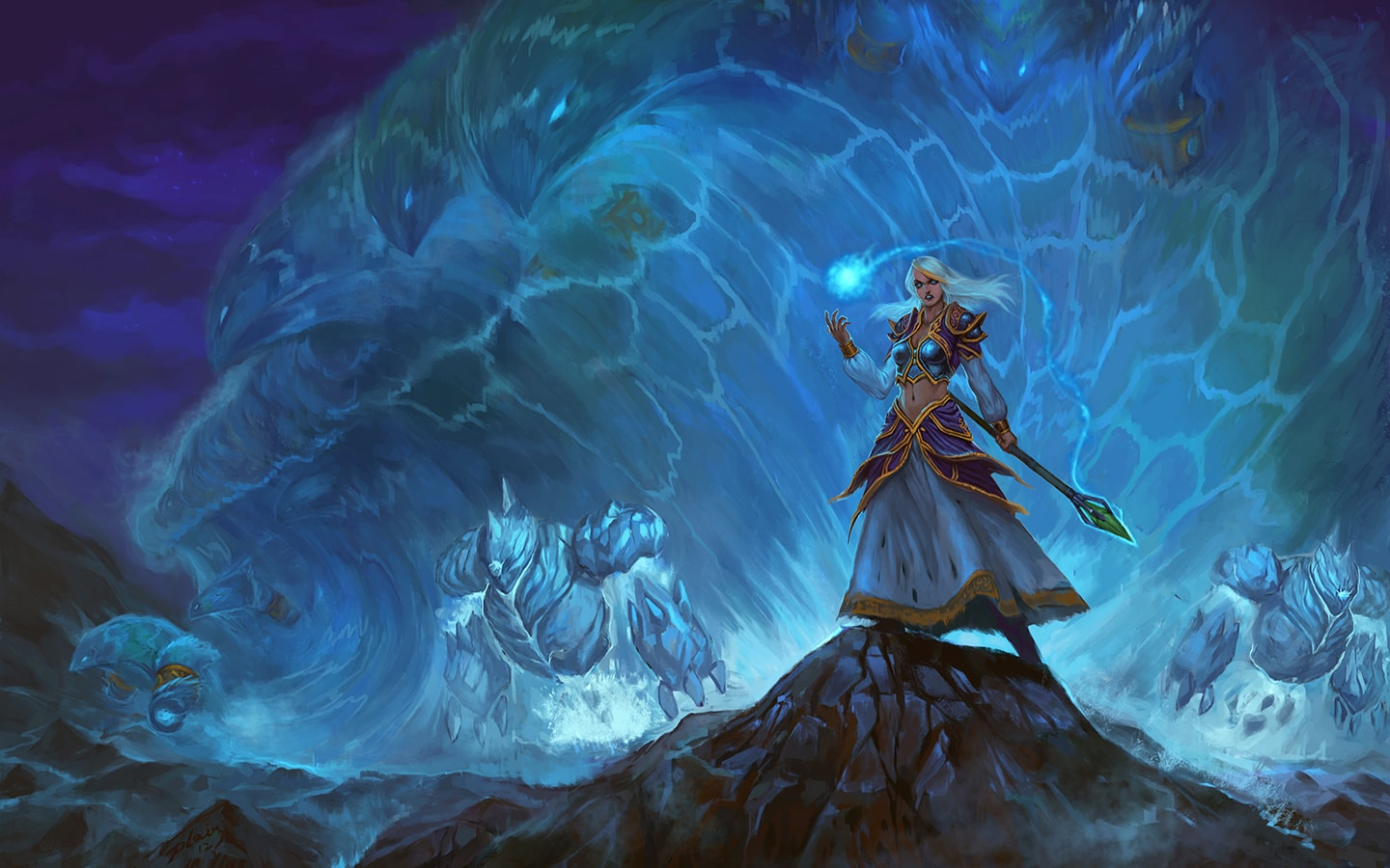 WOW: Jaina Proudmoore Download
