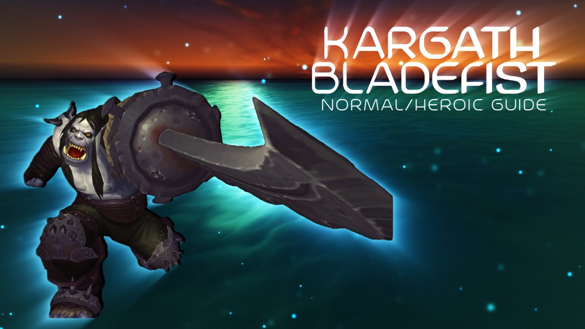 WOW: Kargath Bladefist widescreen