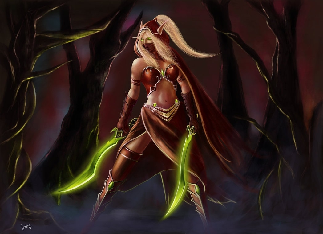 WOW: Valeera Sanguinar Download