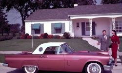 1957 Ford Thunderbird Wallpapers
