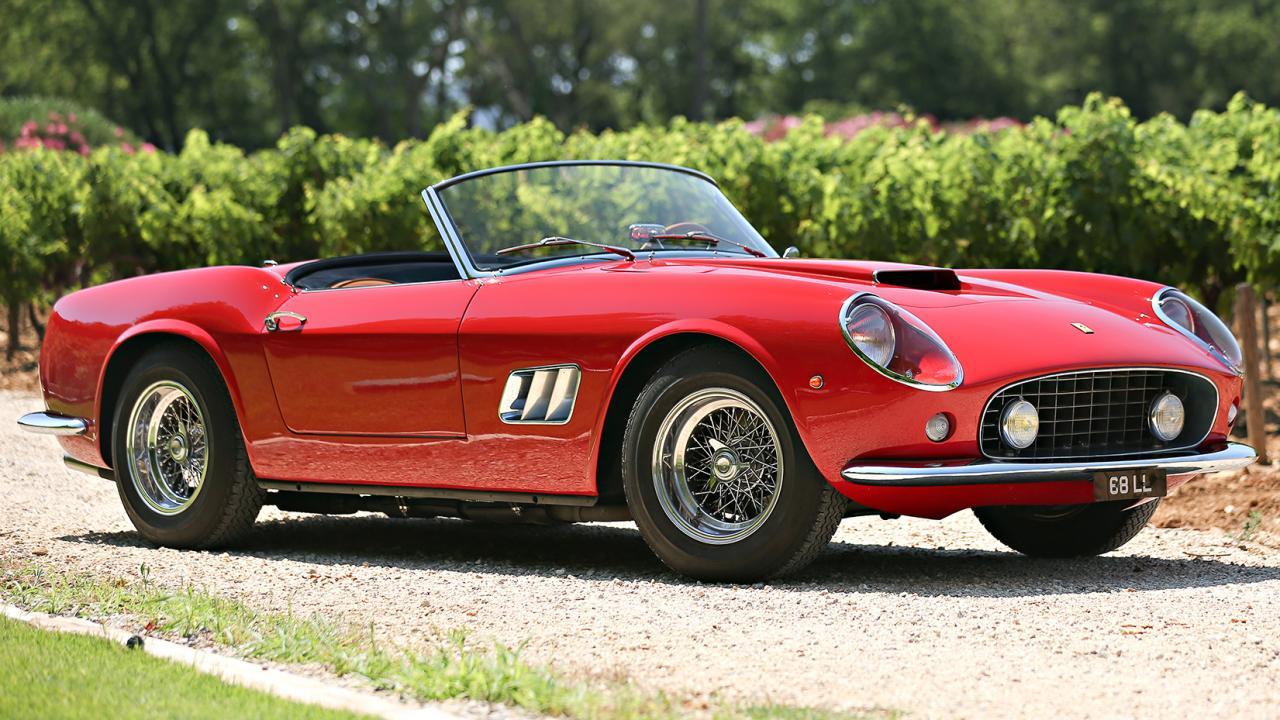1961 Ferrari 250 GT California Wallpapers