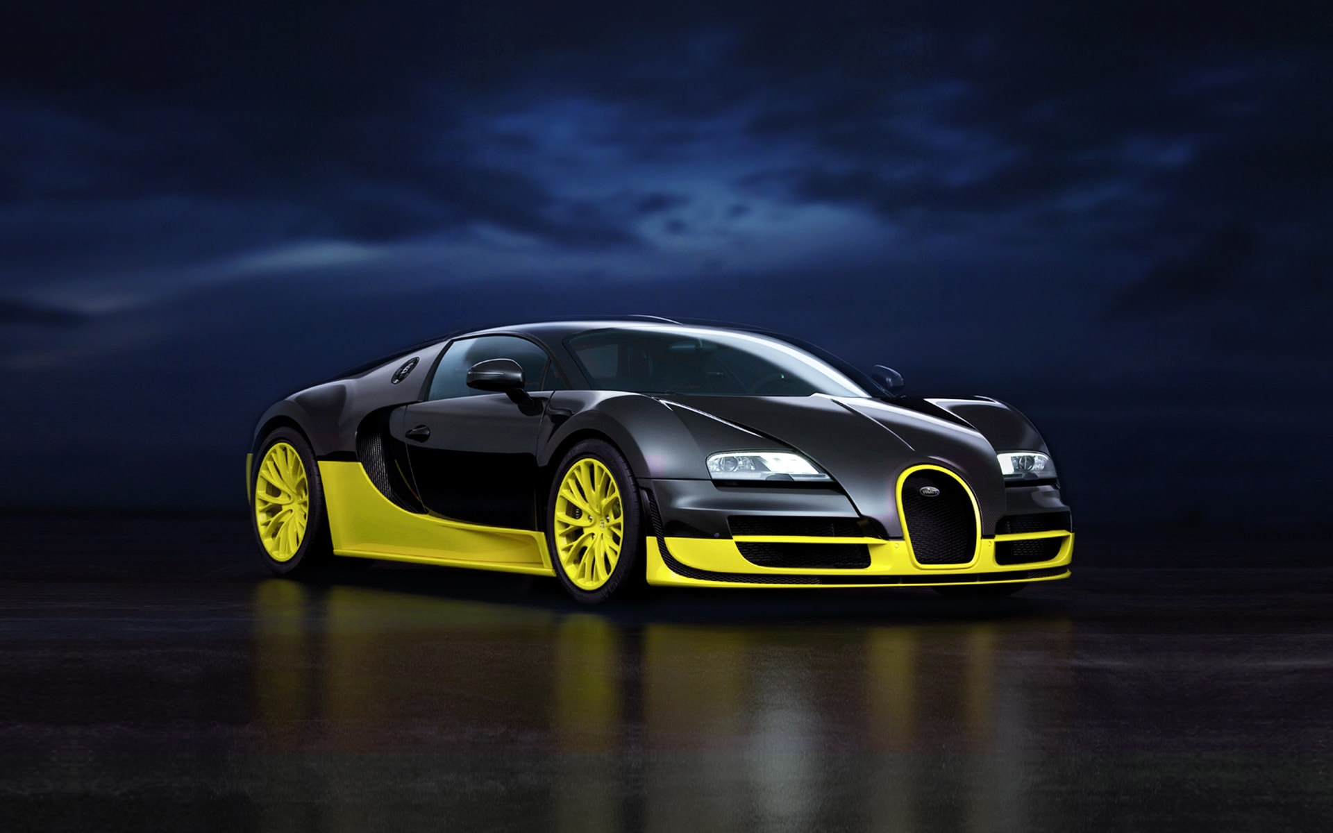 Bugatti Veyron Super Sport Wallpapers