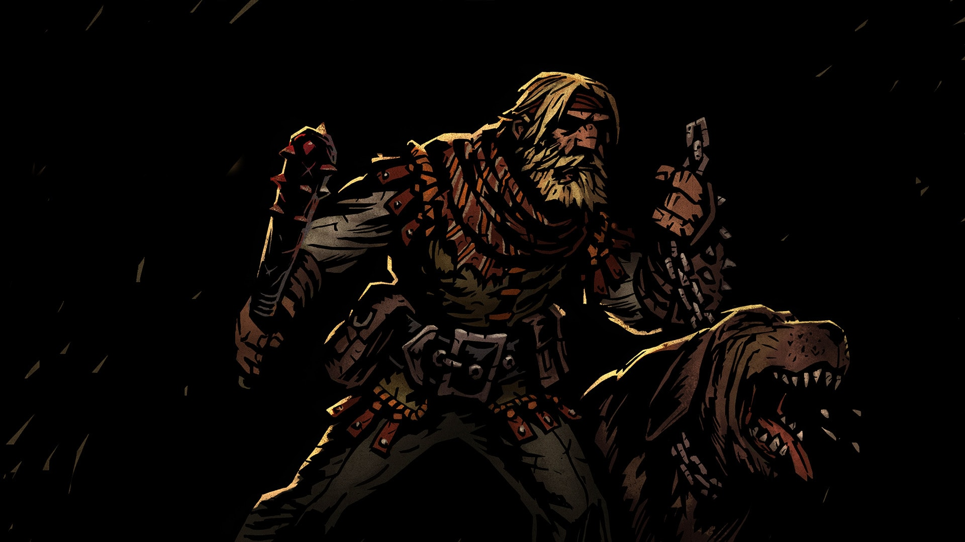 Darkest Dungeon: Hound Master Wallpapers