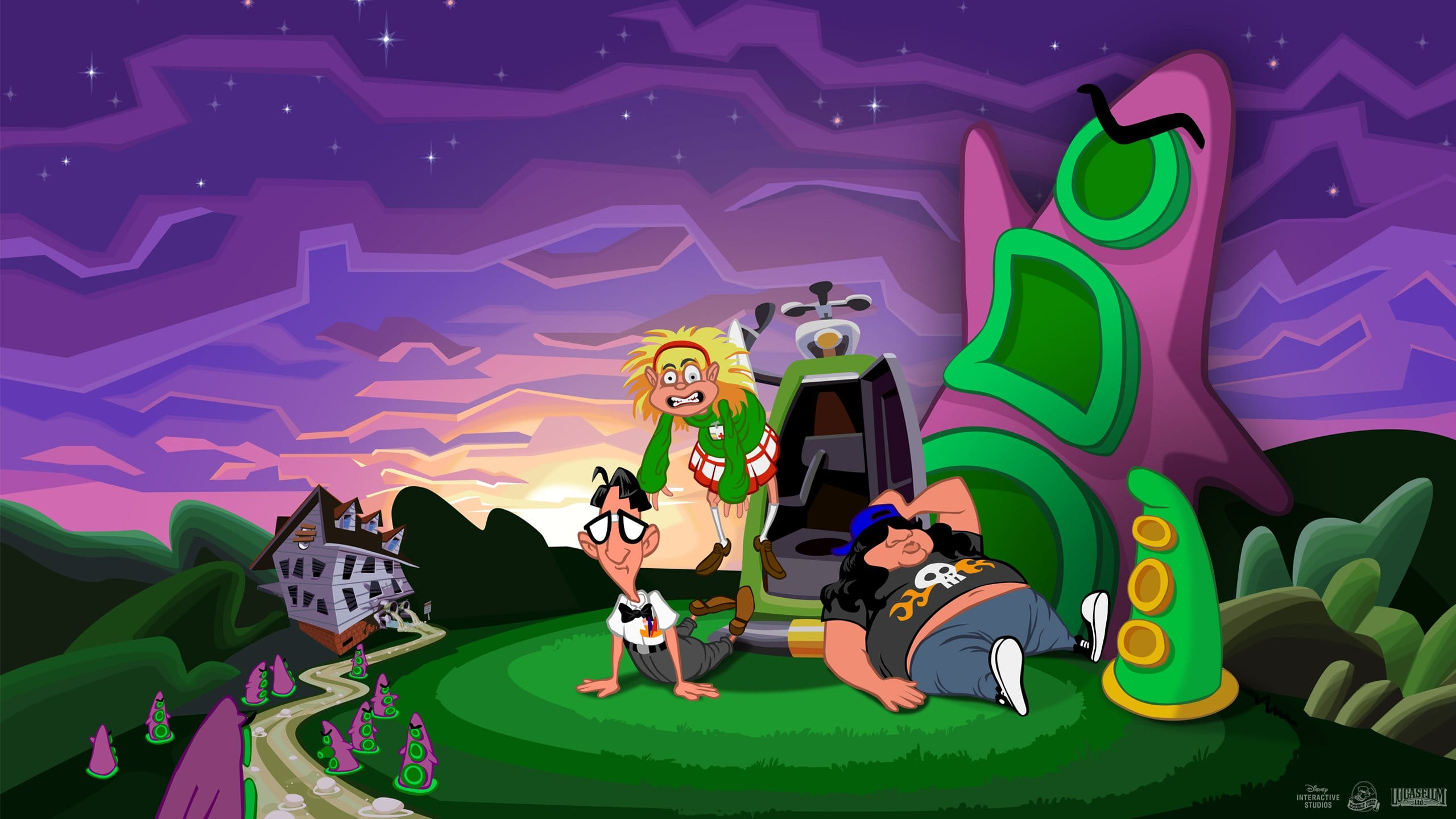 Day of the Tentacle Remastered 2016 Wallpapers