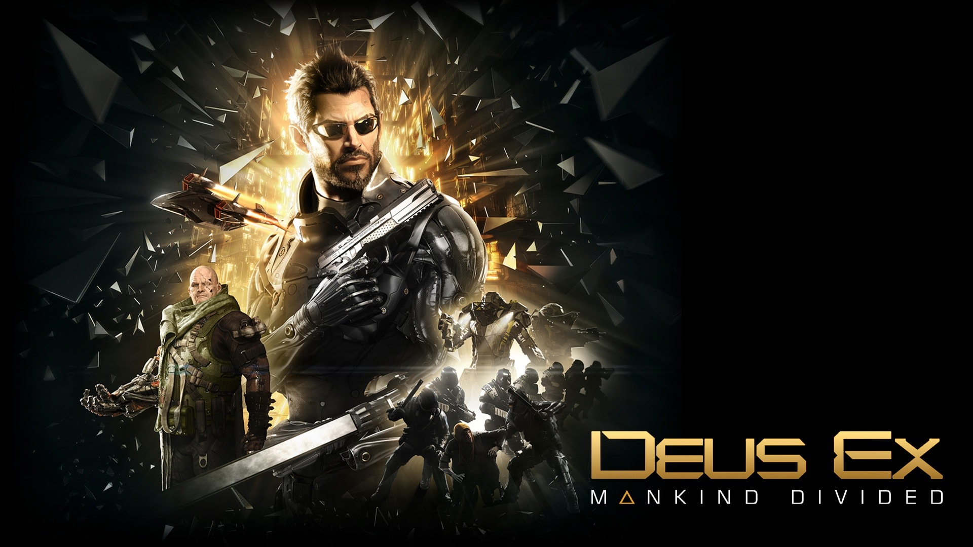 Deus Ex Mankind Divided Wallpapers