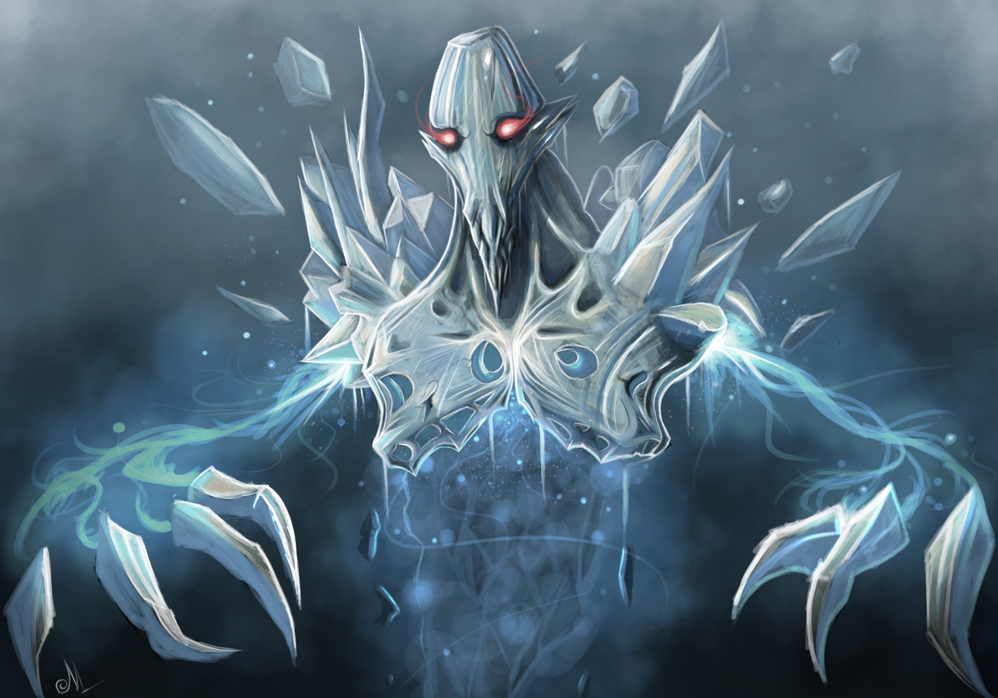 Dota2 : Ancient Apparition Wallpapers