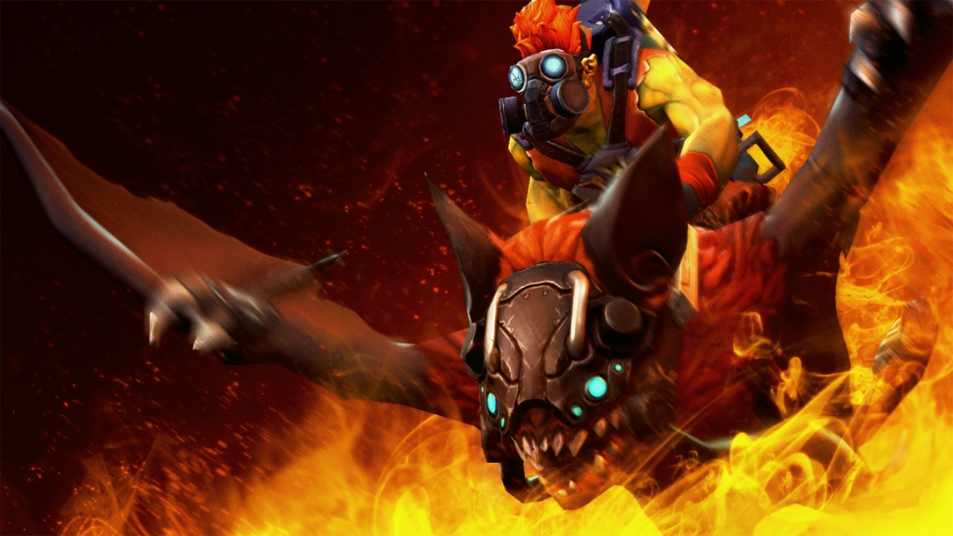 Dota2 : Batrider Wallpapers