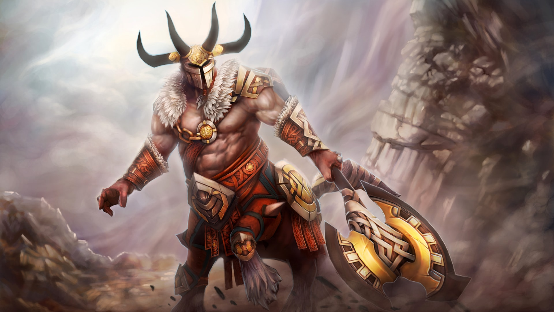 Dota2 : Centaur Warrunner Wallpapers