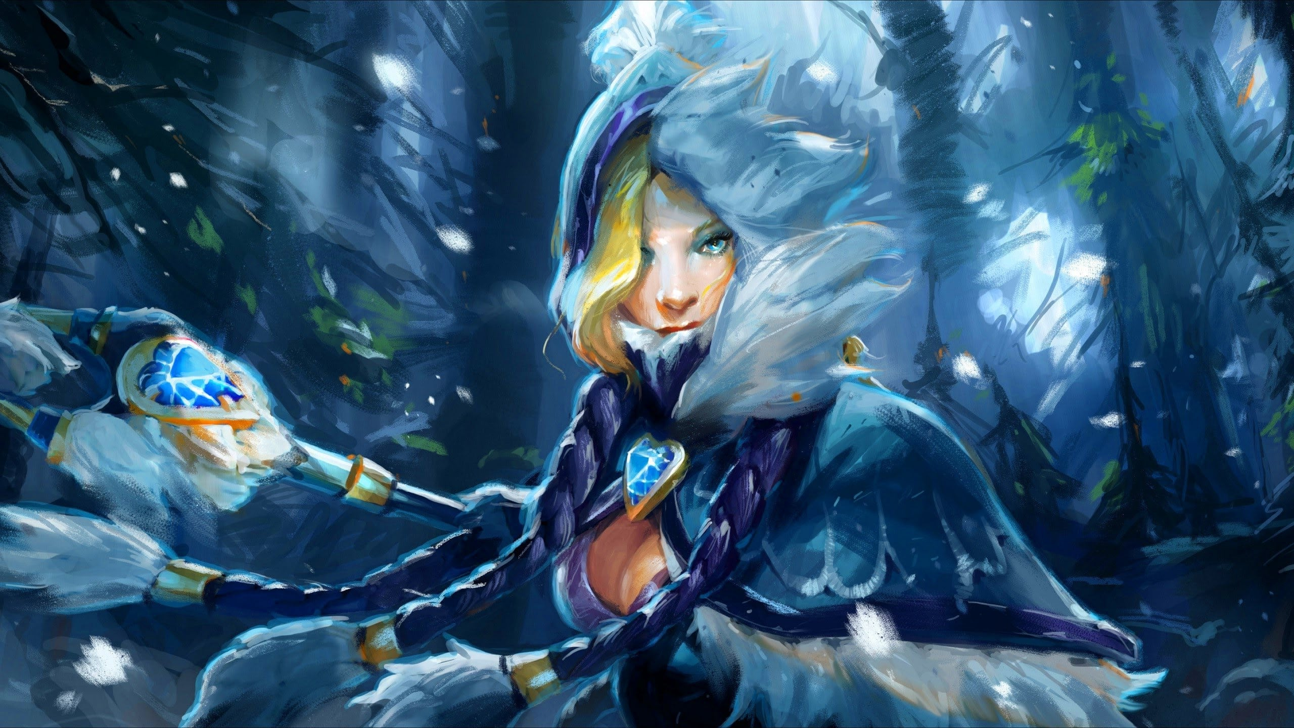 Dota2 : Crystal Maiden Wallpapers