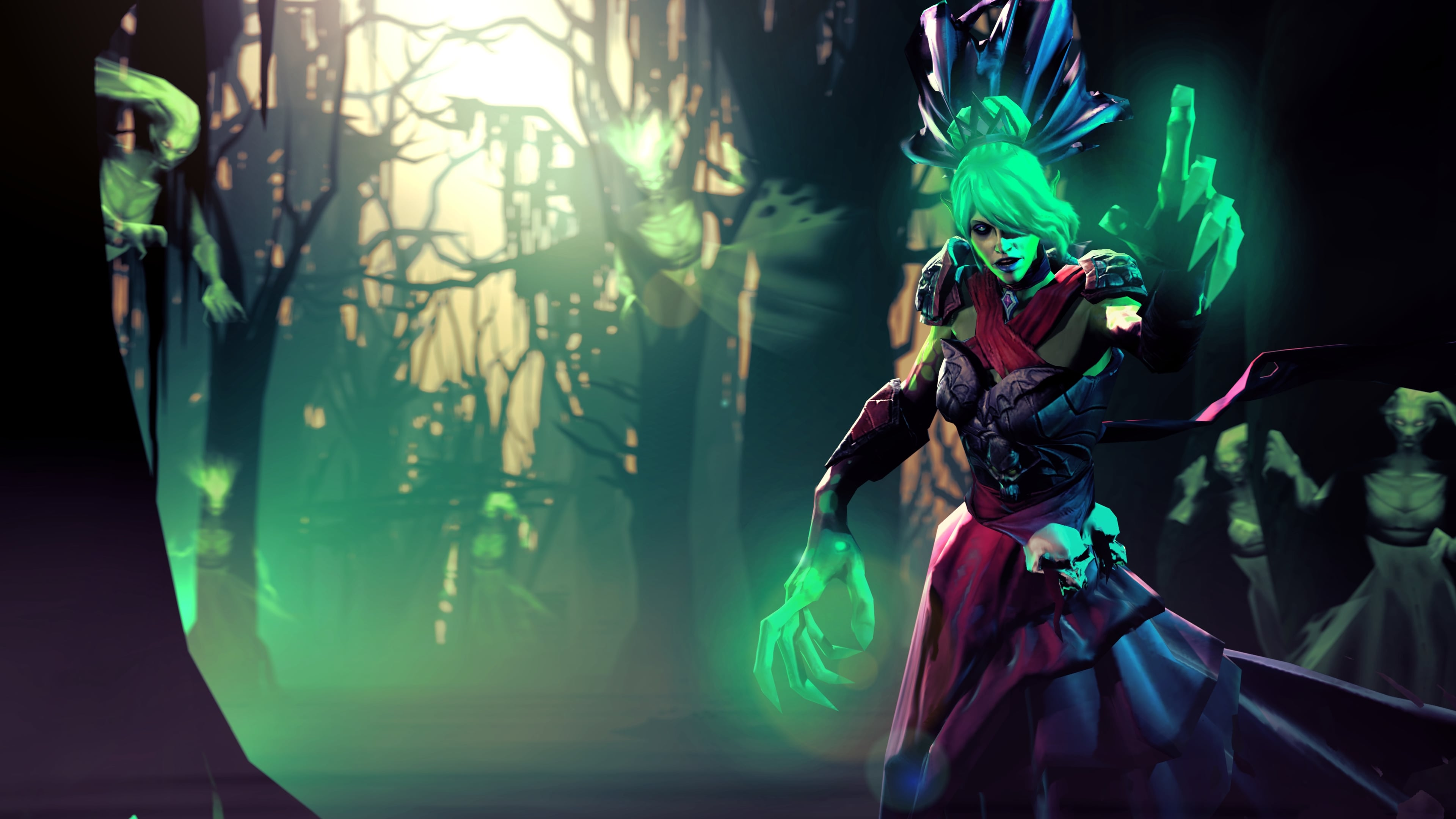 Dota2 : Death Prophet Wallpapers