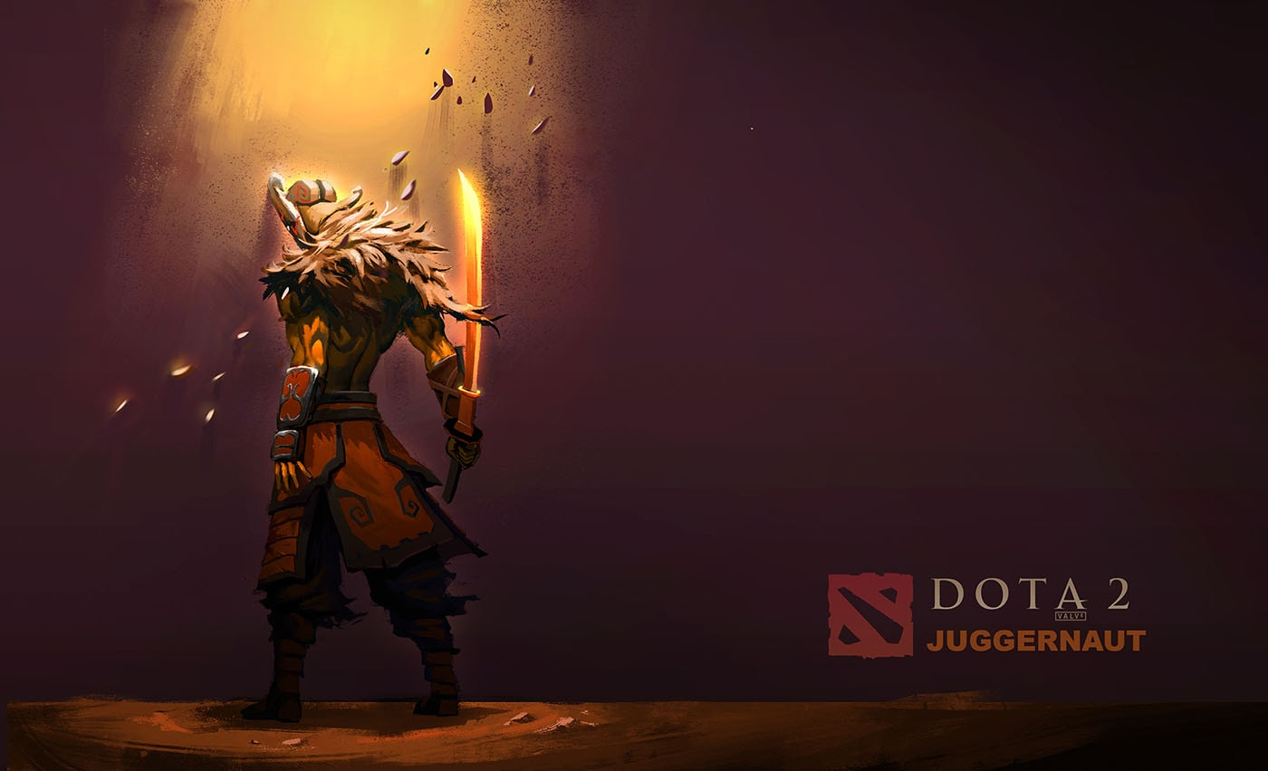 Dota2 Juggernaut HD Desktop Wallpapers