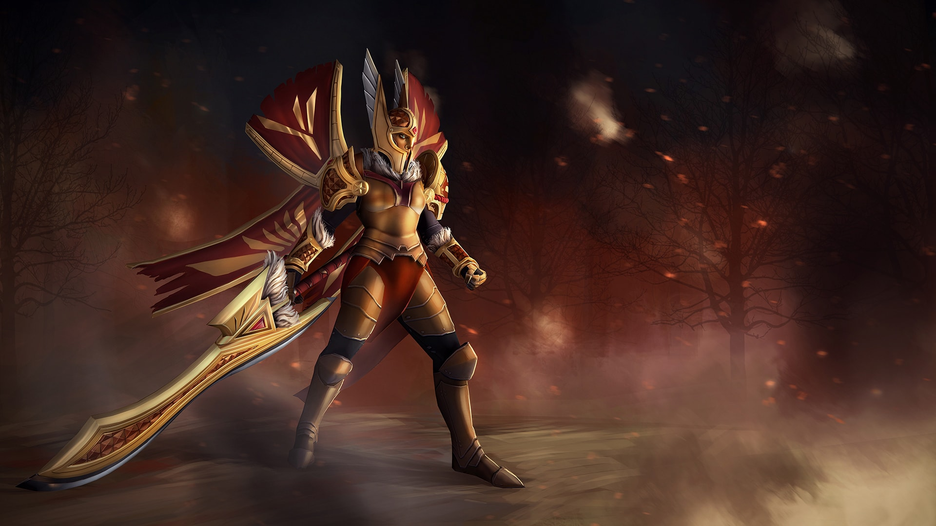 Dota2 : Legion Commander Wallpapers