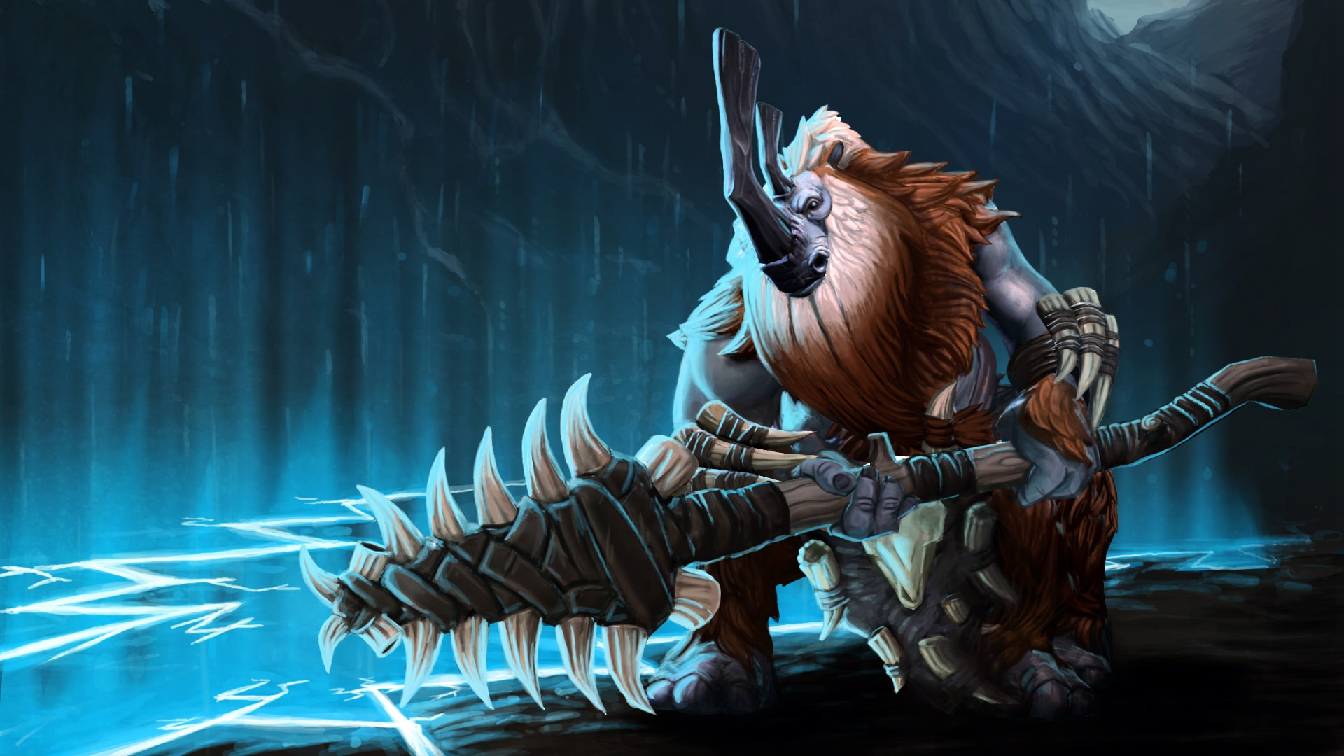 Dota2 : Magnus Wallpapers