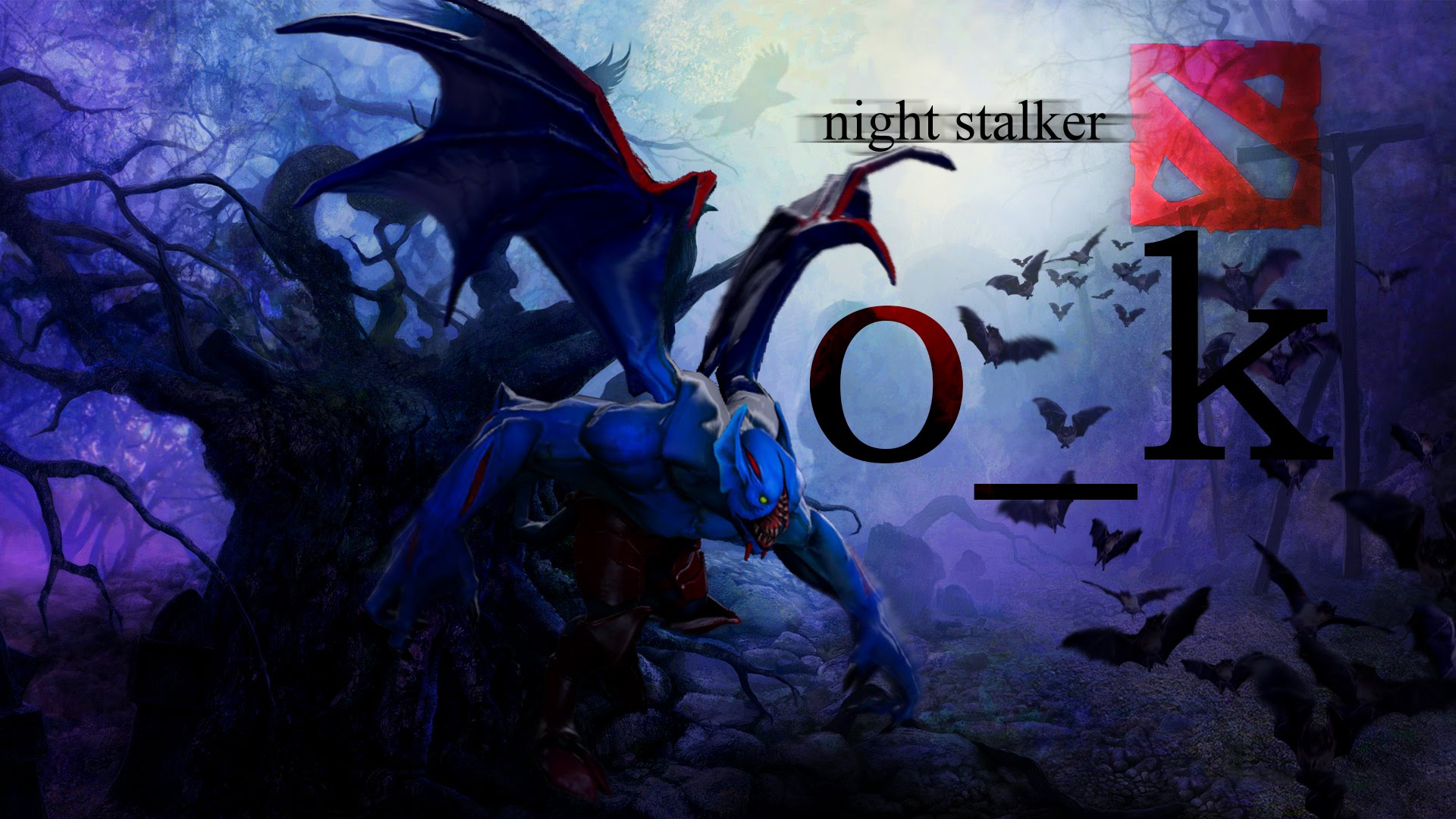 Dota2 : Night Stalker Wallpapers