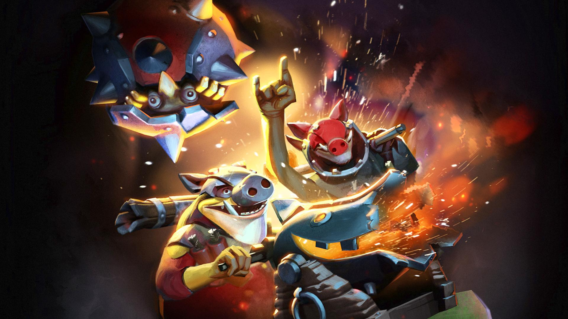 Dota2 : Techies Wallpapers