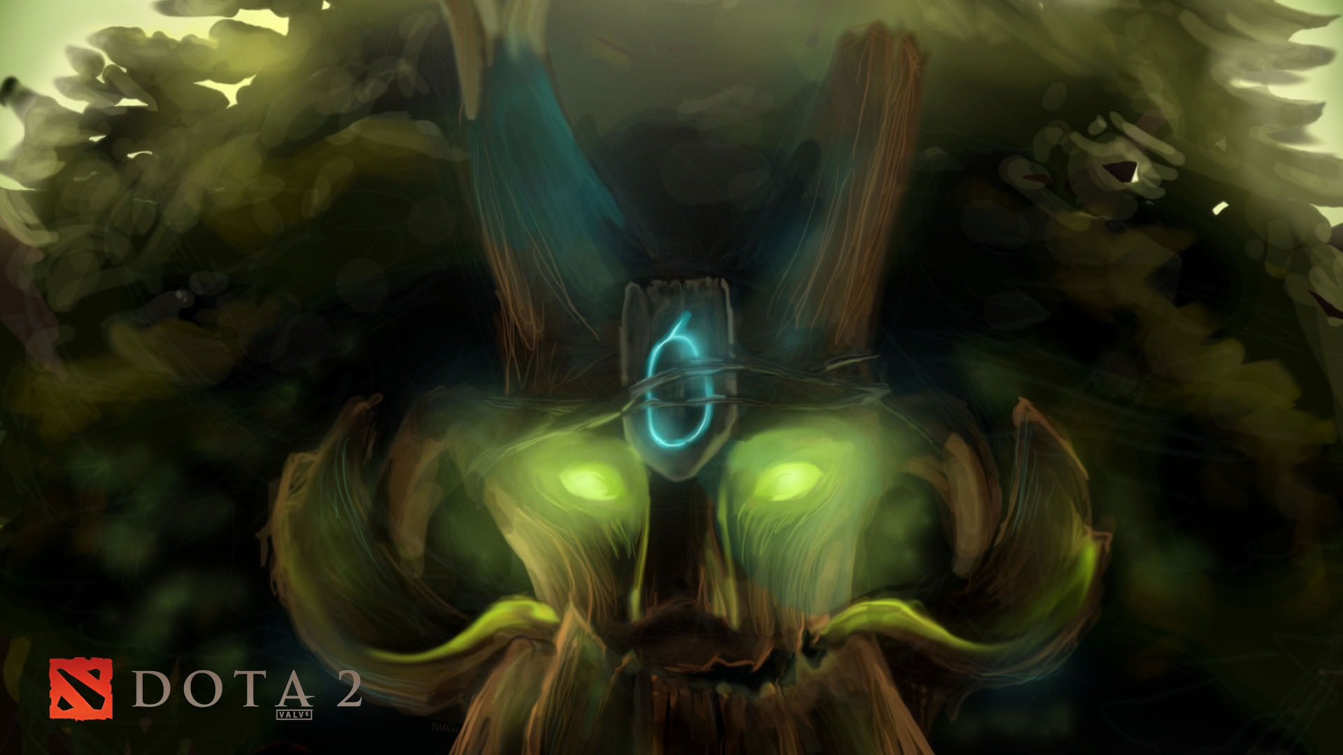 Dota2 : Treant Protector Wallpapers
