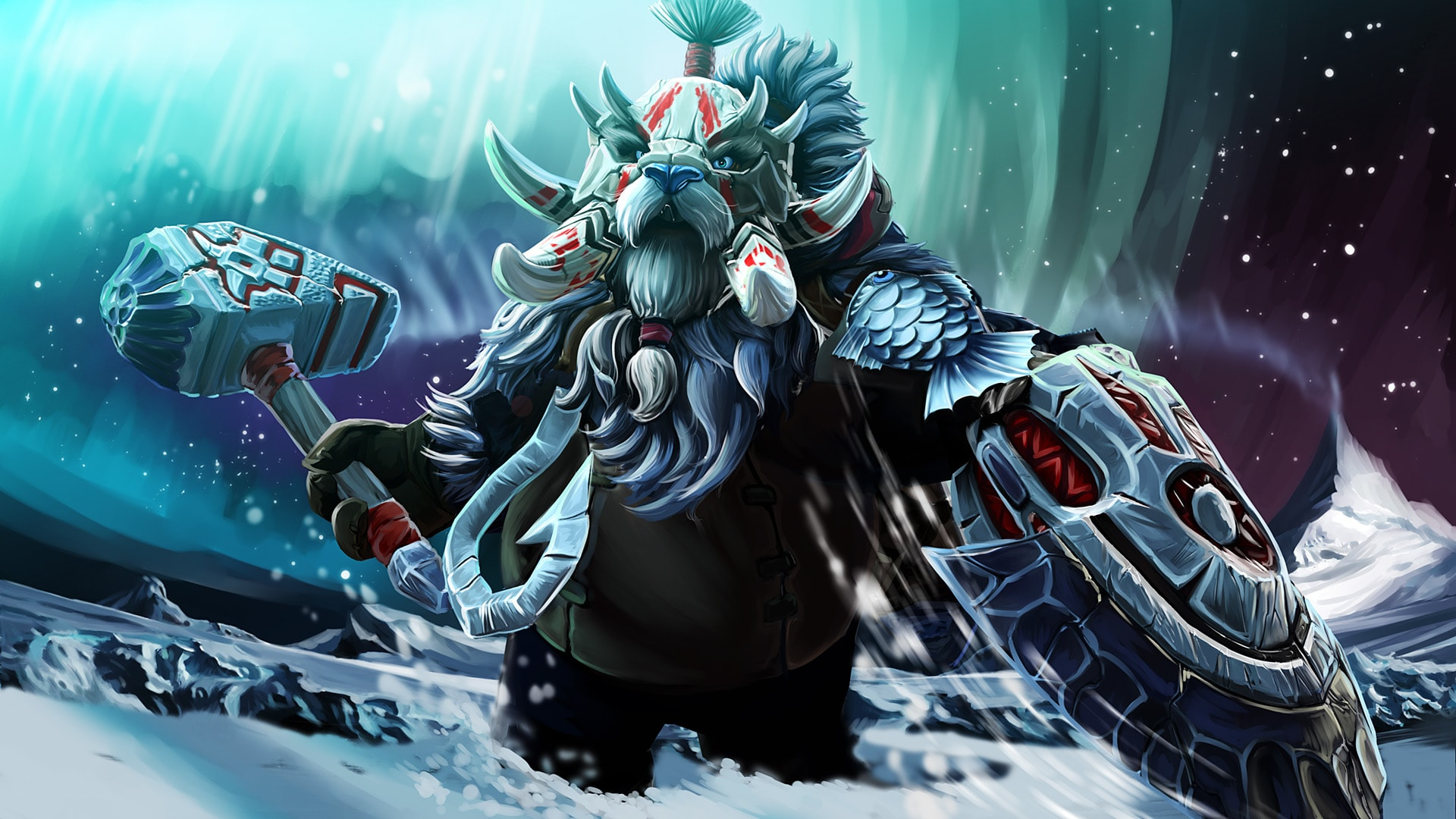 Dota2 : Tusk Wallpapers
