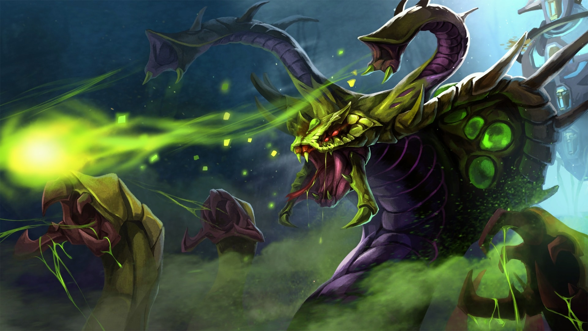 Dota2 : Venomancer Wallpapers