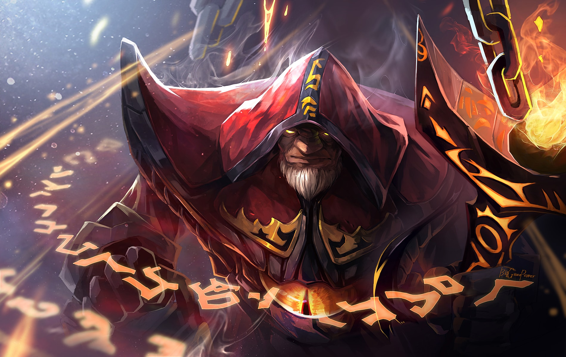 Dota2 : Warlock Wallpapers