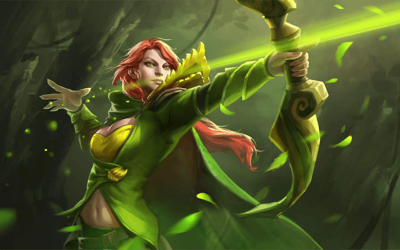 Dota2 : Windranger Wallpapers