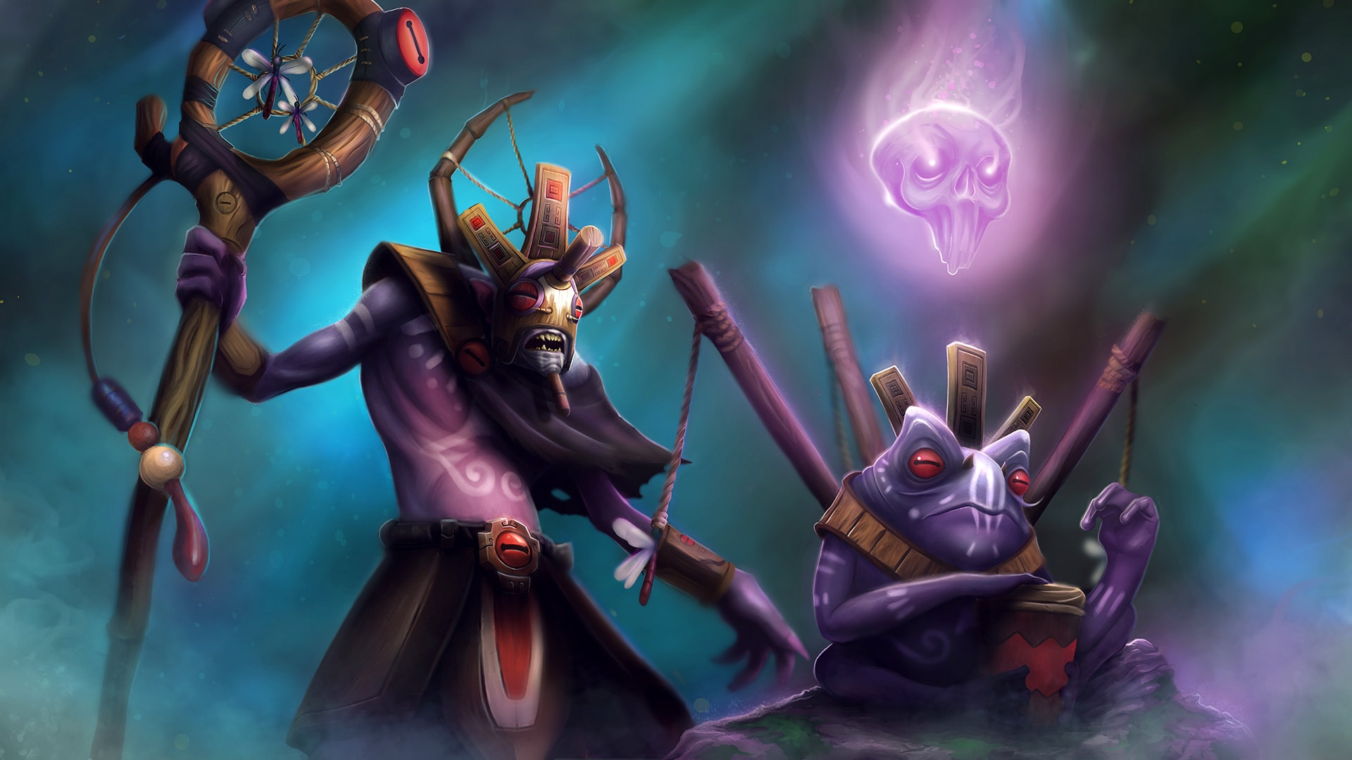 Dota2 : Witch Doctor Wallpapers
