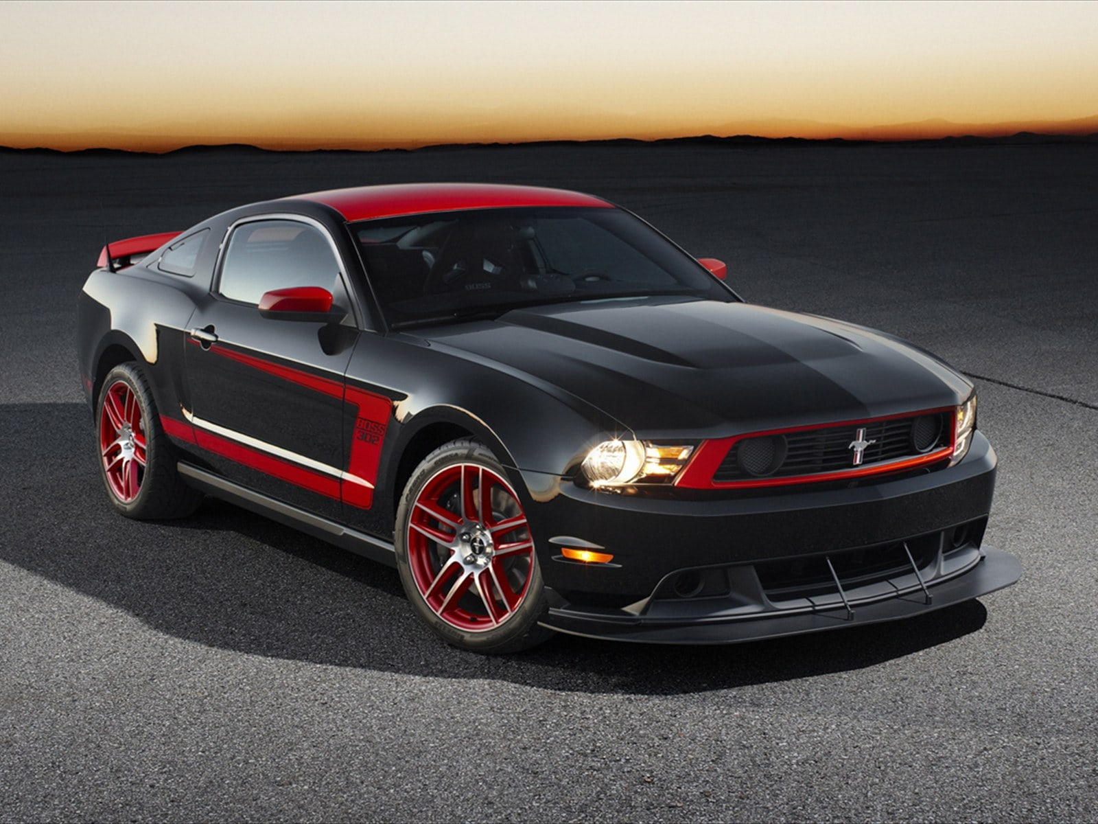 Ford Mustang Boss 302 Laguna Seca Wallpapers