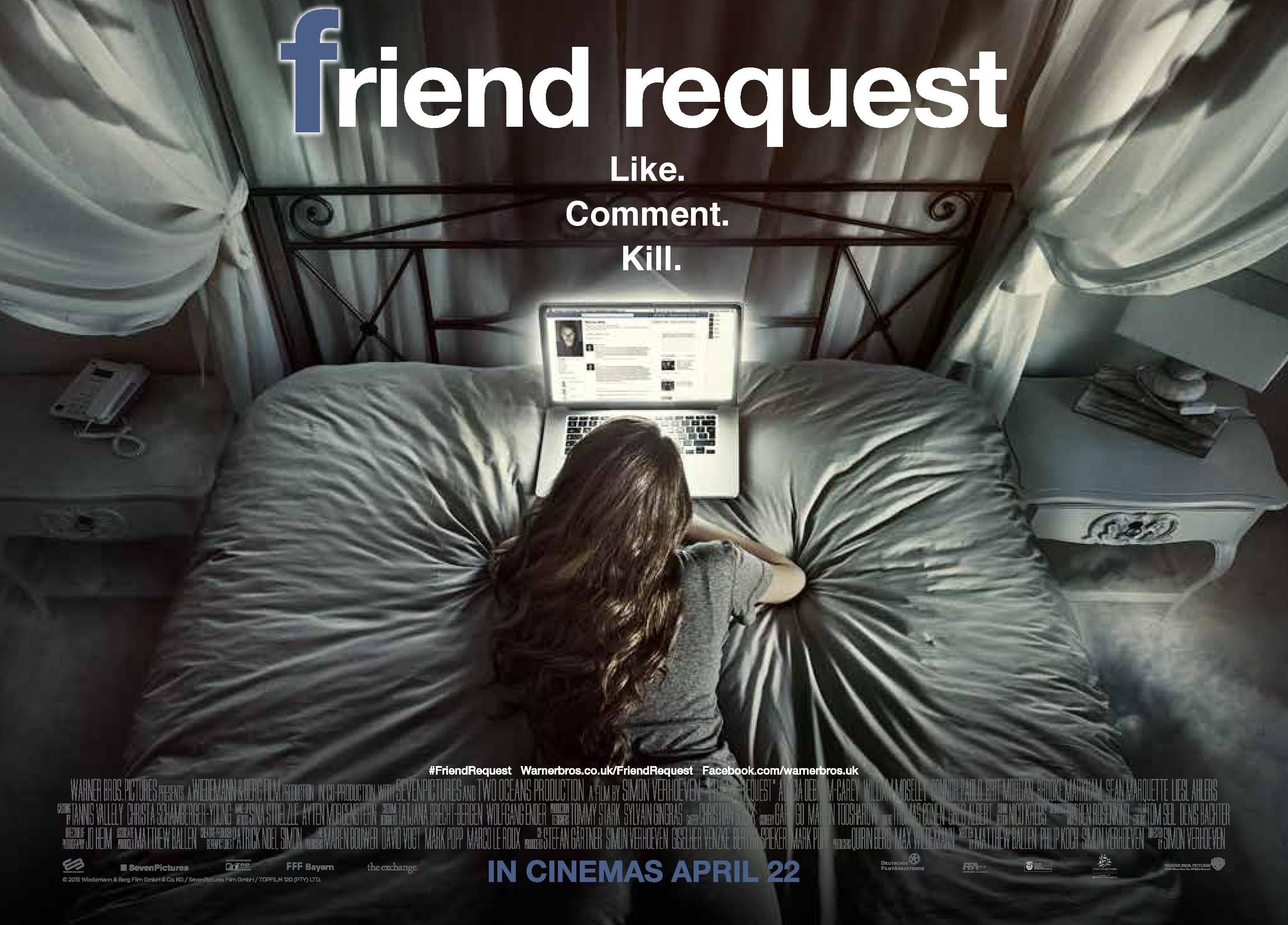 ผลการค้นหารูปภาพสำหรับ friend request 2020 film
