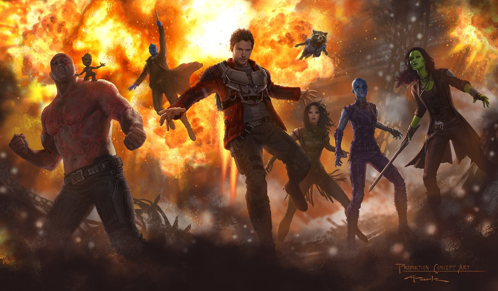 Guardians of the Galaxy Vol. 2 Wallpapers