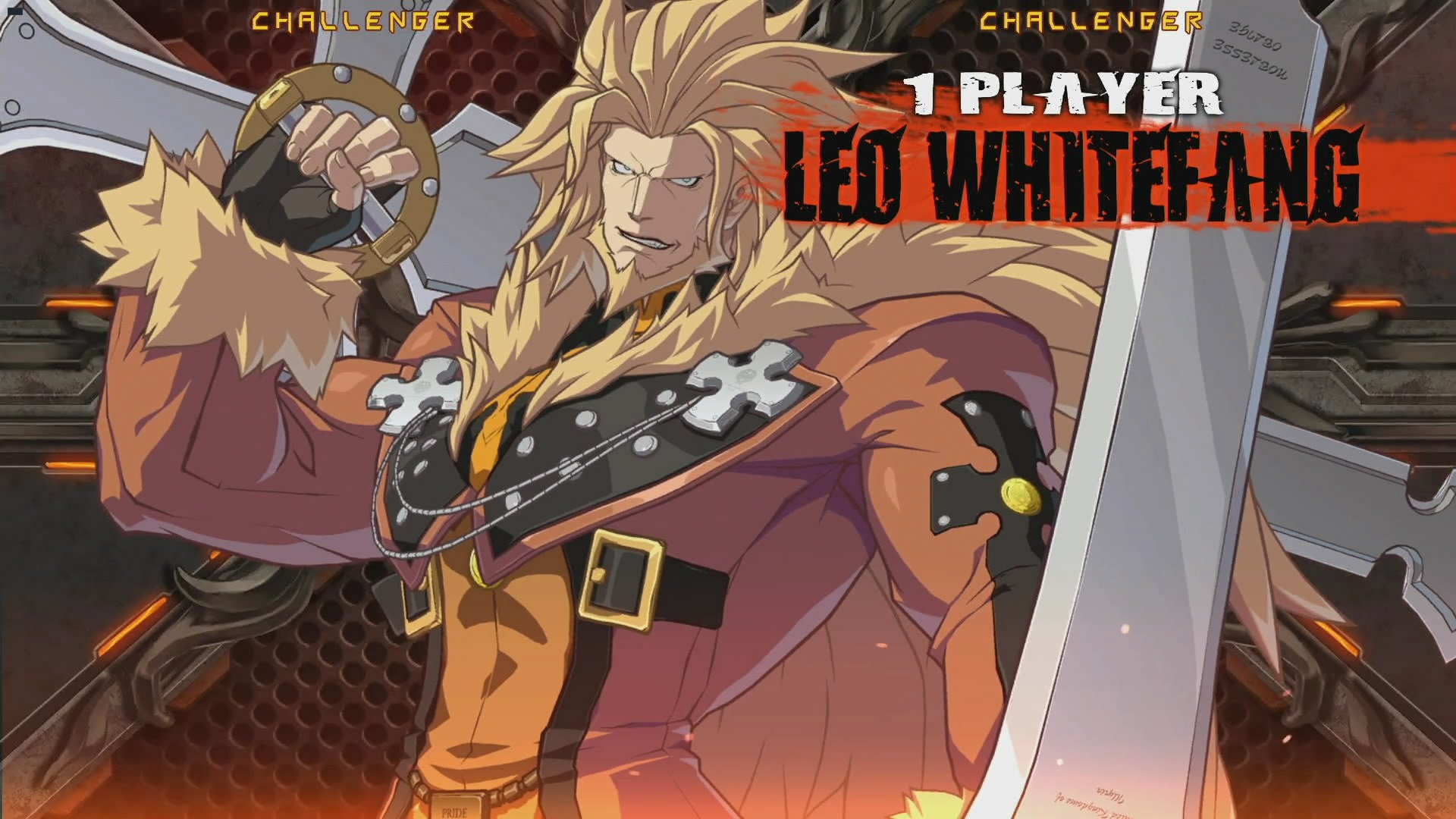 Guilty Gear: Leo Whitefang Wallpapers