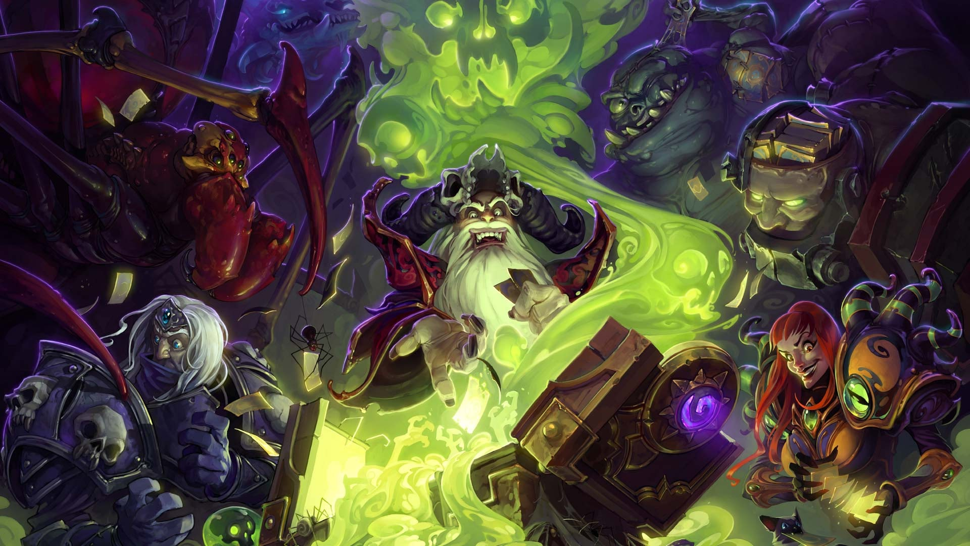 Hearthstone: Curse of Naxxramas widescreen wallpapers