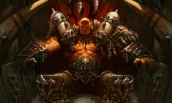 Hearthstone: Garrosh Hellscream widescreen wallpapers