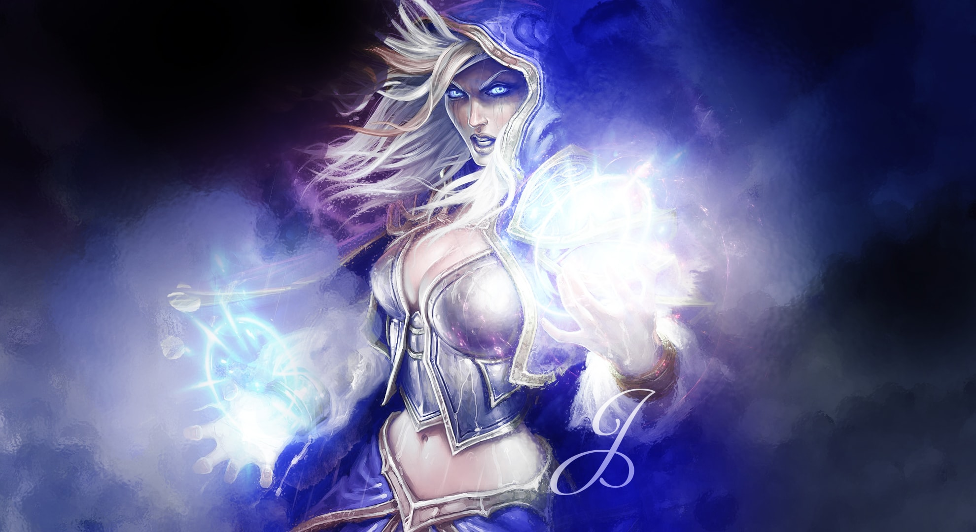 Hearthstone: Jaina Proudmoore widescreen wallpapers