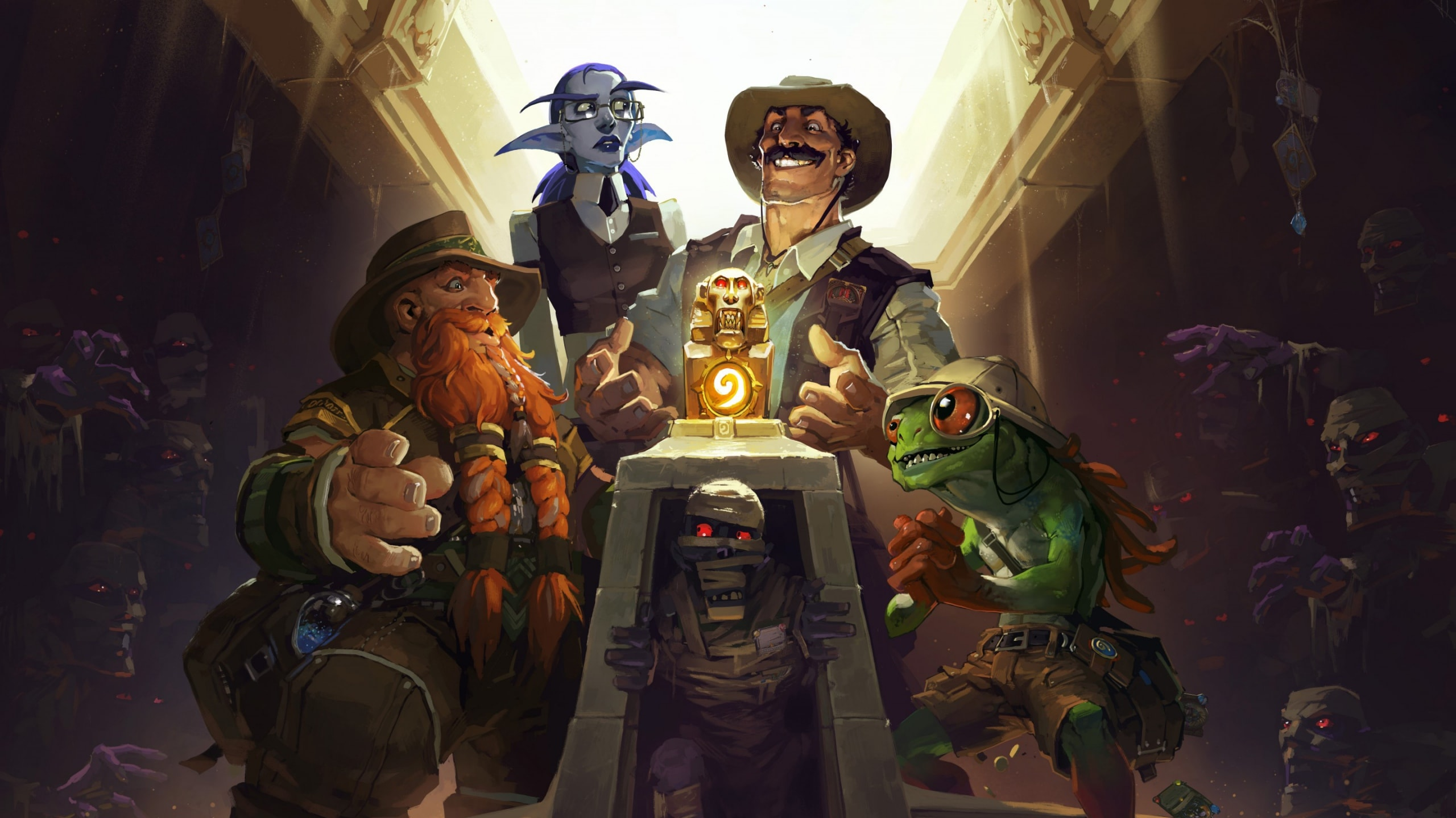 Hearthstone: League of Explorers Wallpapers