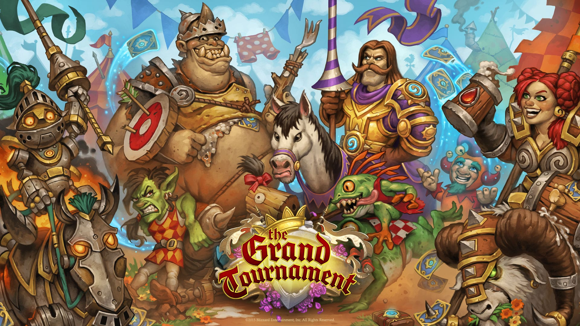 Hearthstone: The Grand Tournament Wallpapers