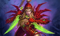 Hearthstone: Valeera Sanguinar Wallpapers