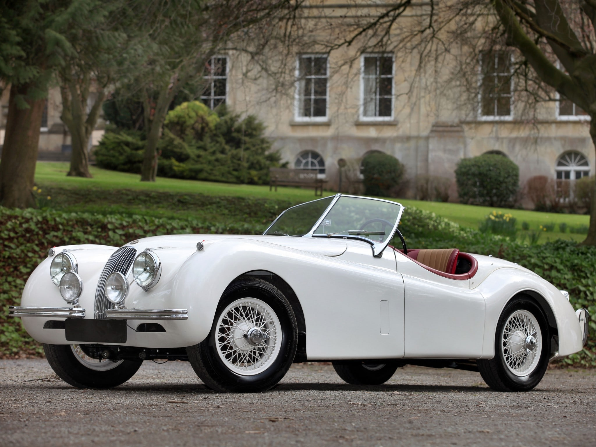 Jaguar XK120 Wallpapers