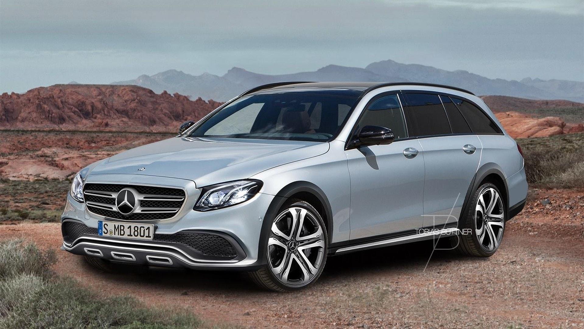 Mercedes E-Class All-Terrain Wallpapers