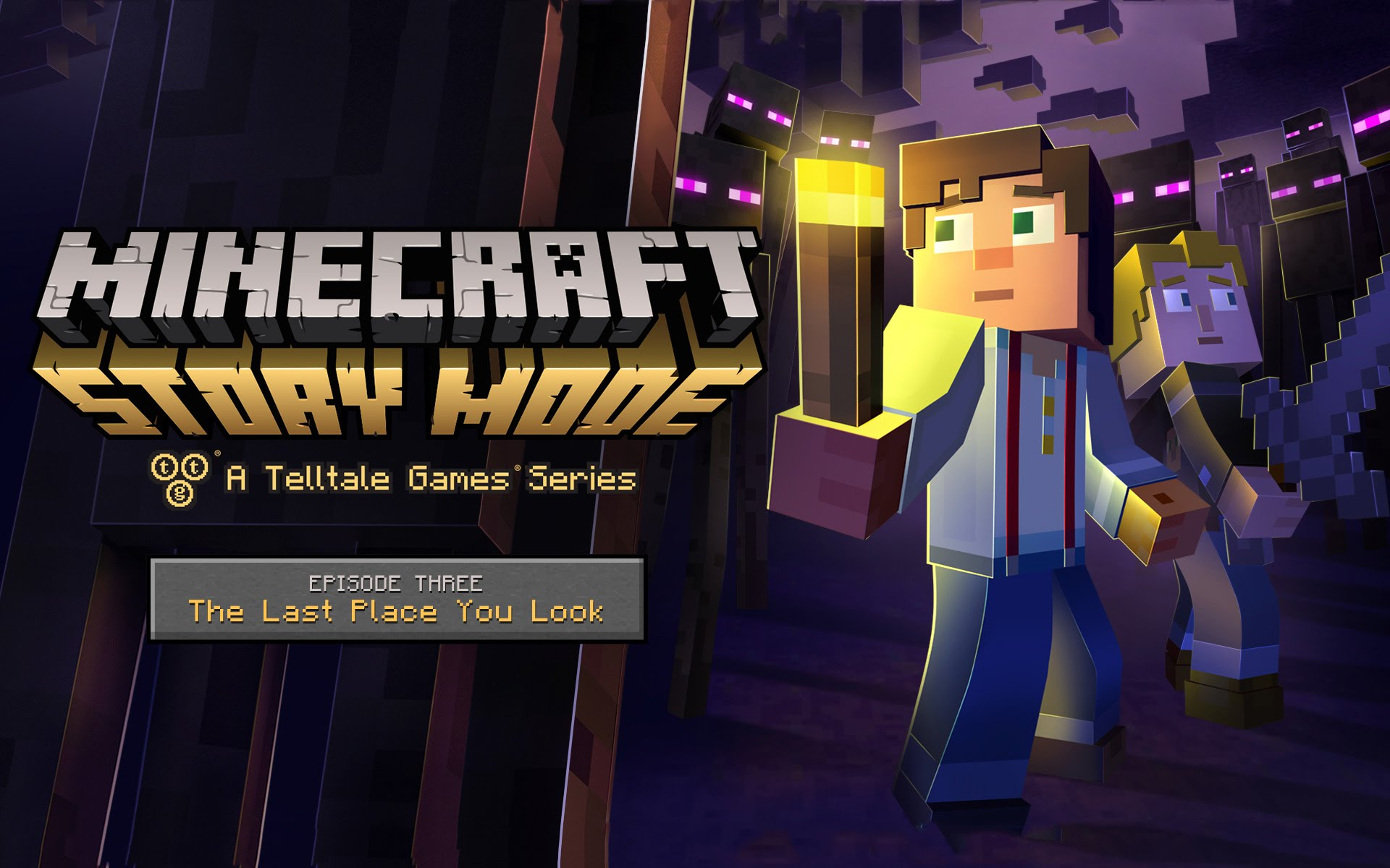 Minecraft: Story Mode - Episode 3: The Last Place You Look Wallpapers