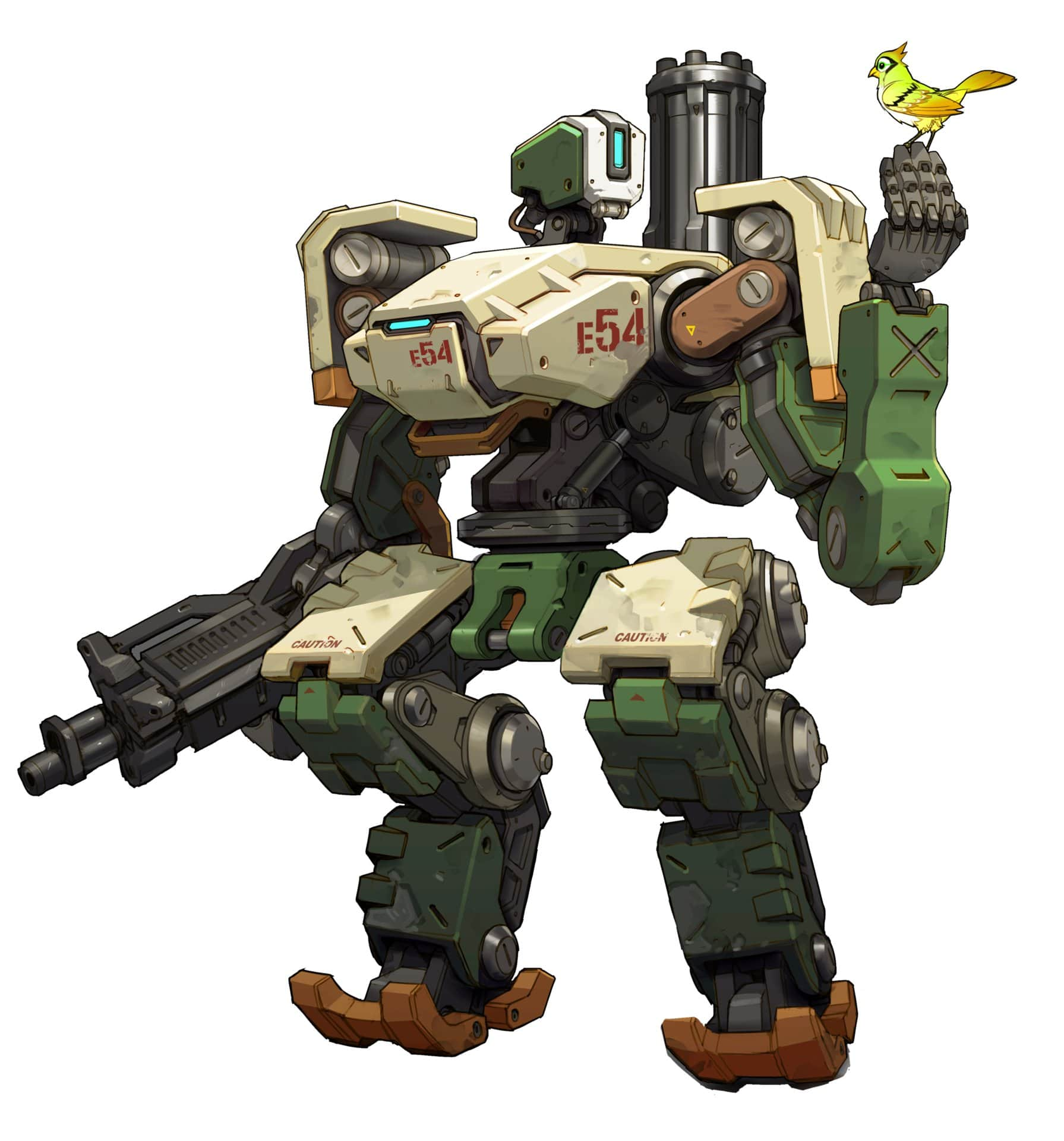 Overwatch : Bastion For mobile