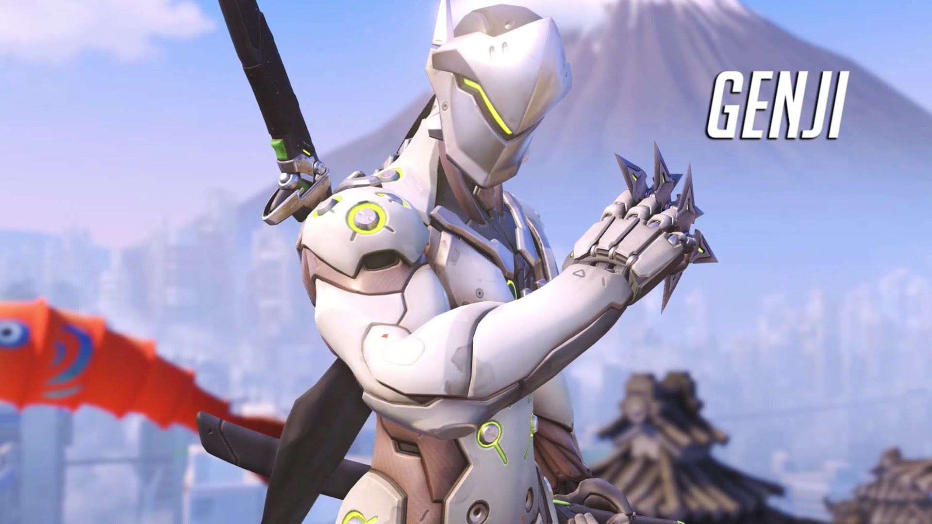 Overwatch Genji Hd Wallpapers 7wallpapers Net