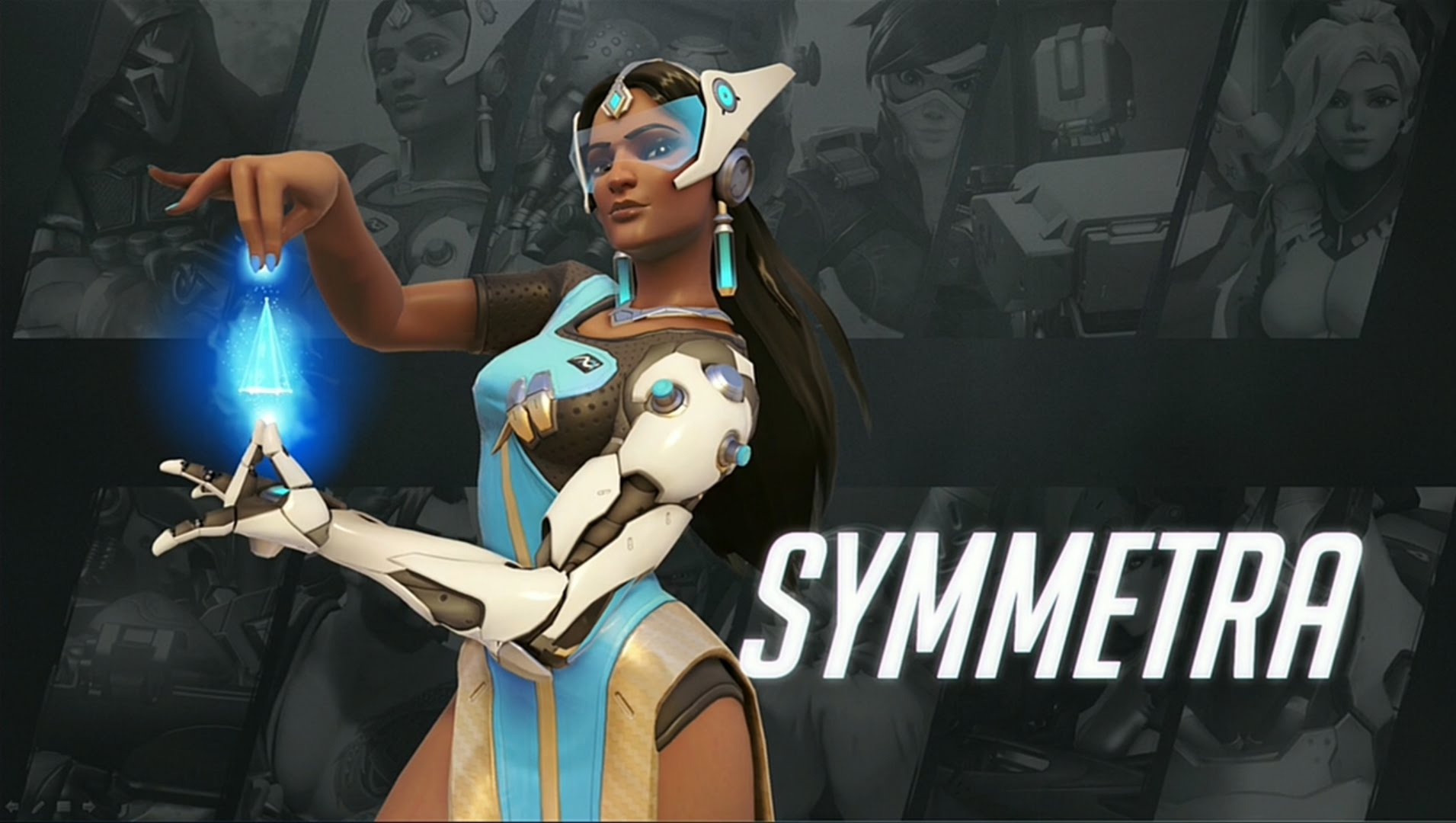 Overwatch : Symmetra Wallpapers