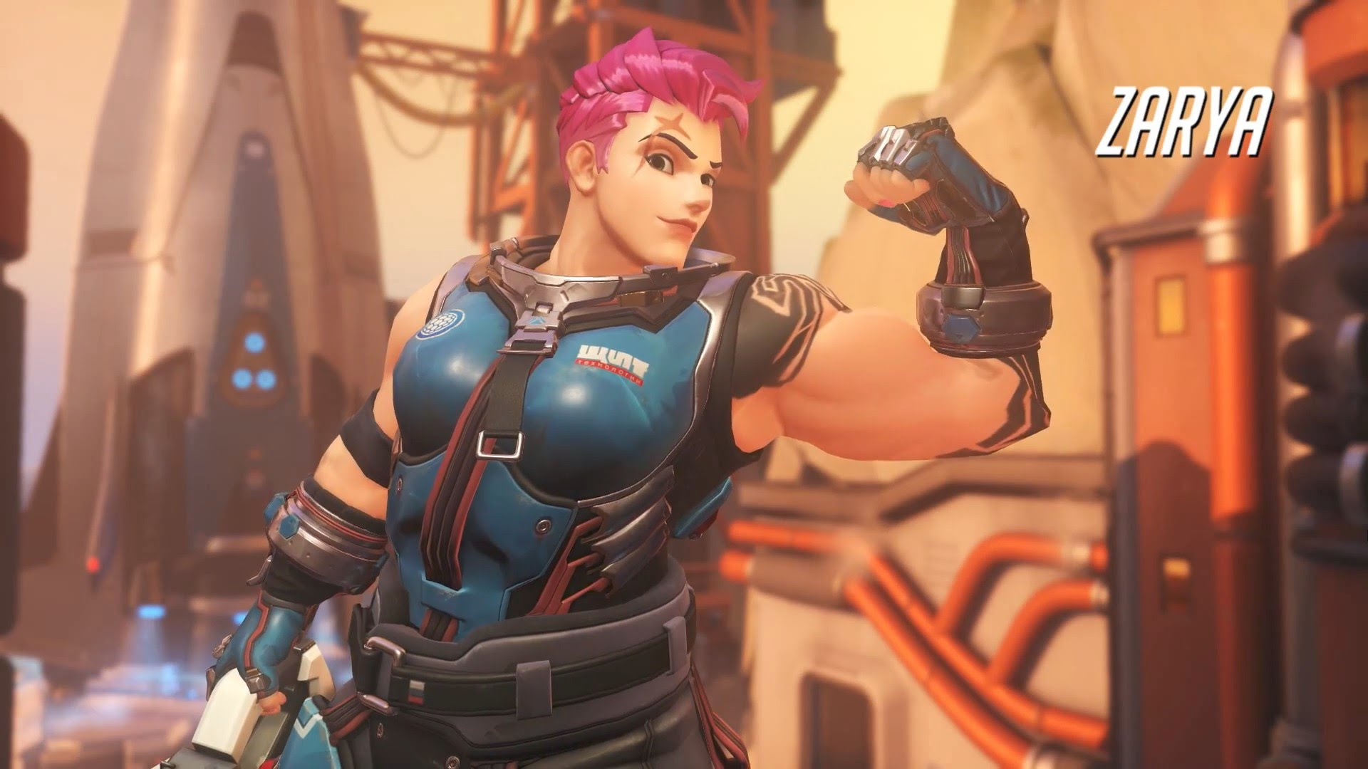 Overwatch : Zarya Wallpapers