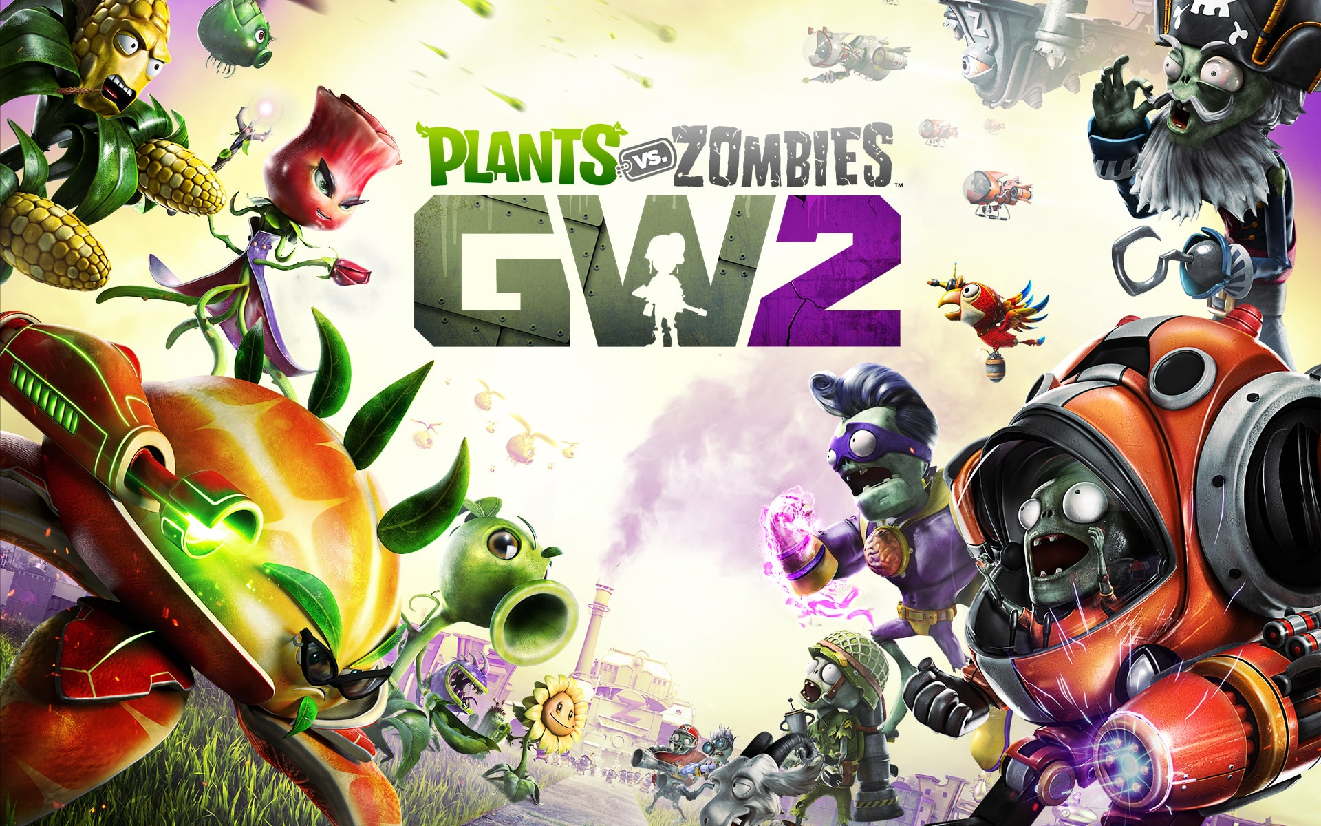 Plants vs. Zombies: Garden Warfare 2 Wallpapers