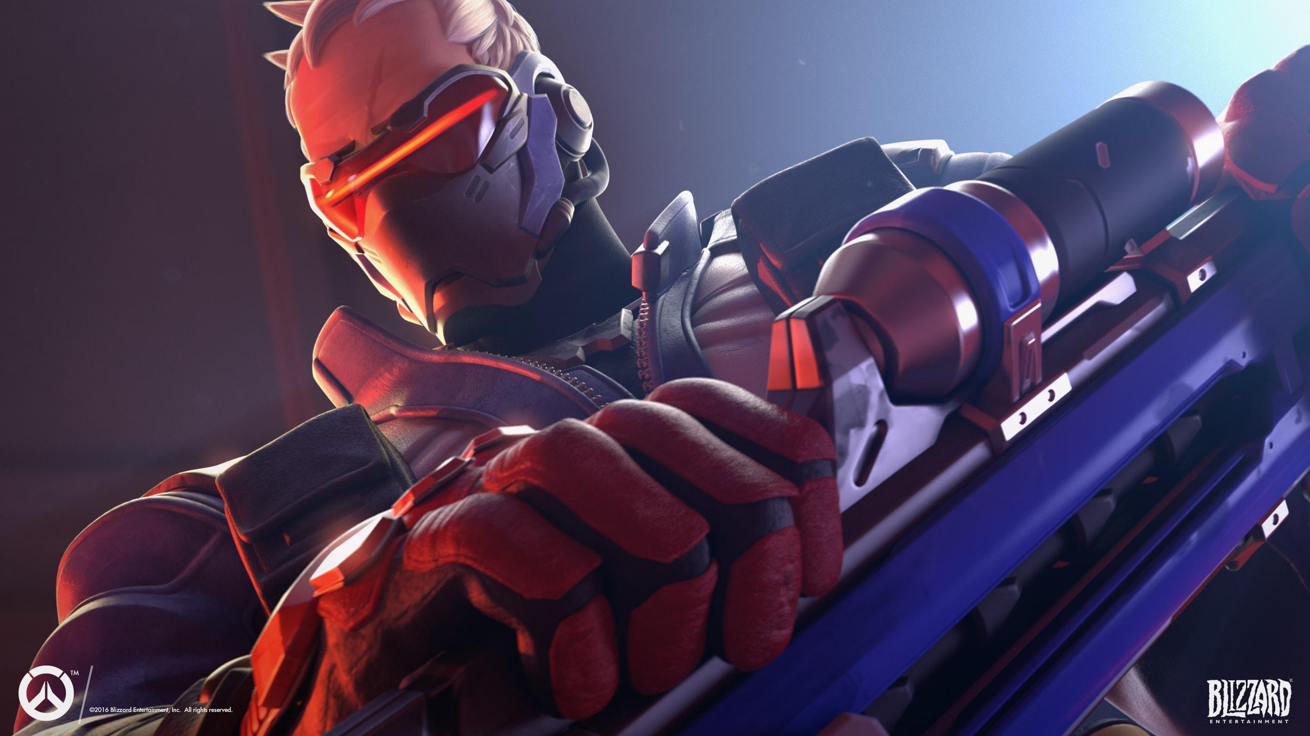 Overwatch : Soldier: 76 Wallpapers