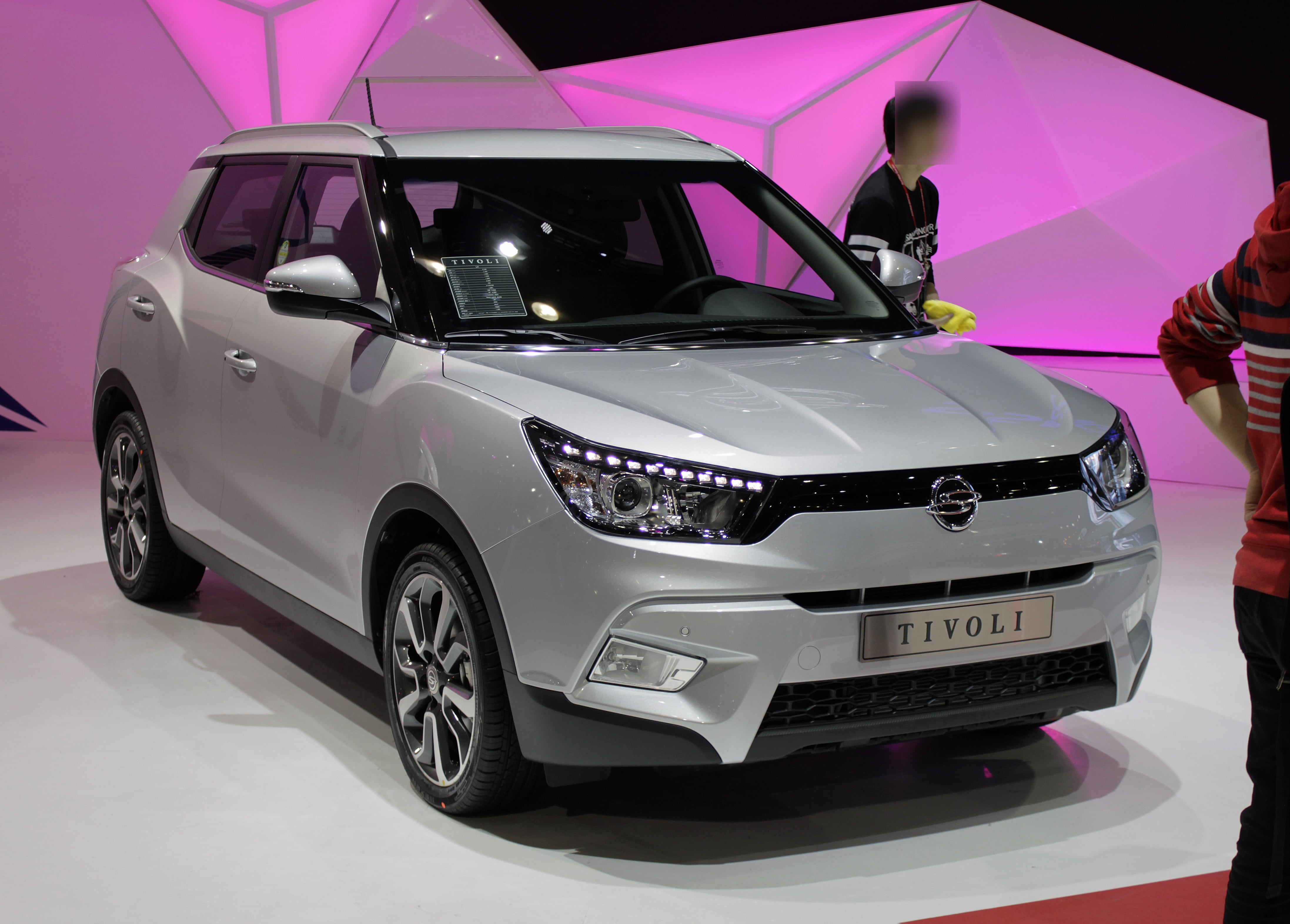 SsangYong Tivoli Wallpapers