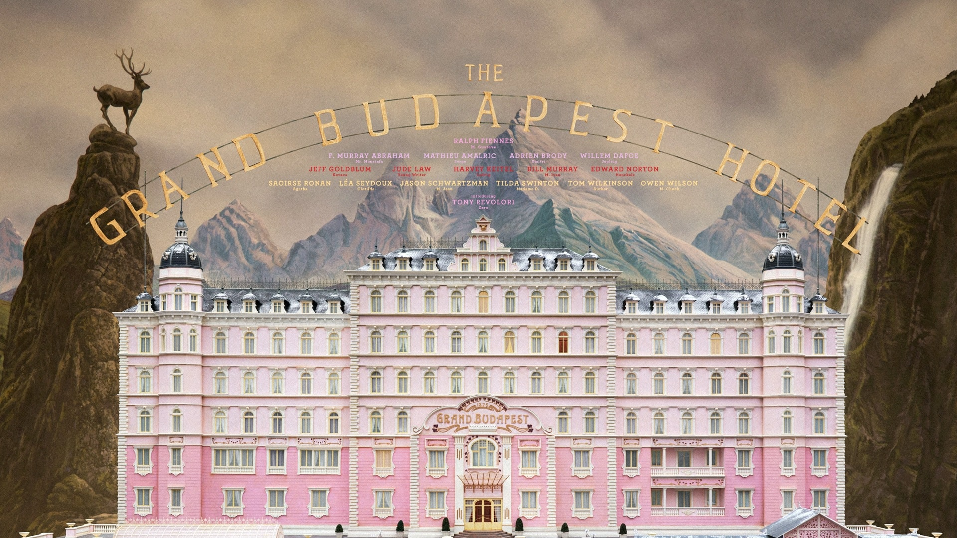 The Grand Budapest Hotel Wallpapers