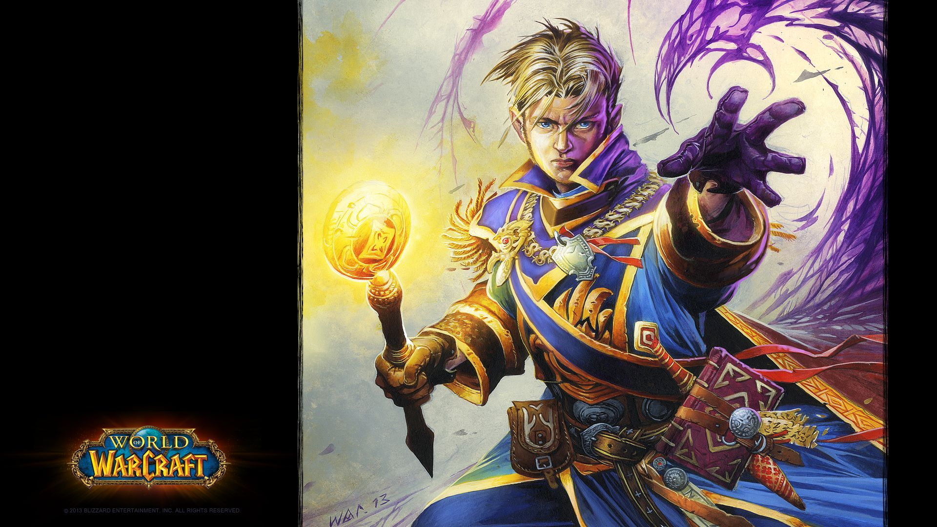 WOW: Anduin Wrynn Wallpapers