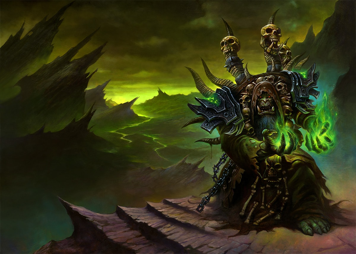 WOW: Gul'dan Wallpapers