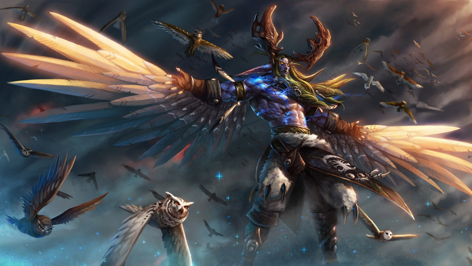 Wow malfurion stormrage hd wallpapers - World of warcraft images ...